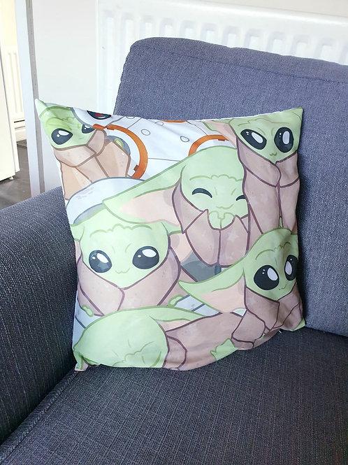 Green Baby Cushion