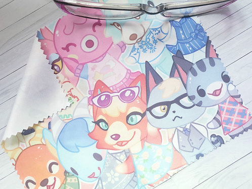 Animal Crossing / Lens Cleaning Cloth - for glasses and screens
