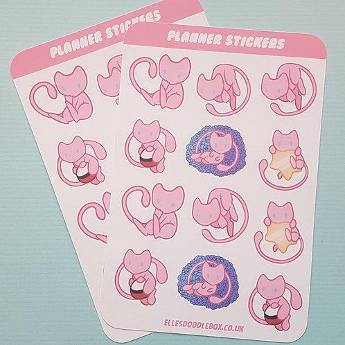 Mew Sticker Sheet