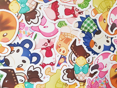 Animal Crossing Character Set 1 Stickers