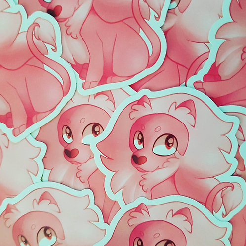 Lion Steven Universe Sticker