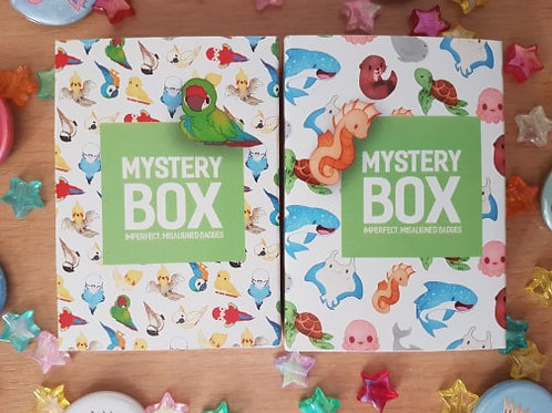Mystery Badge Boxes