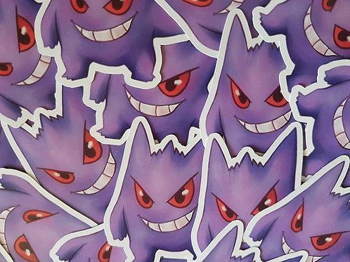 Pokemon Gengar Sticker