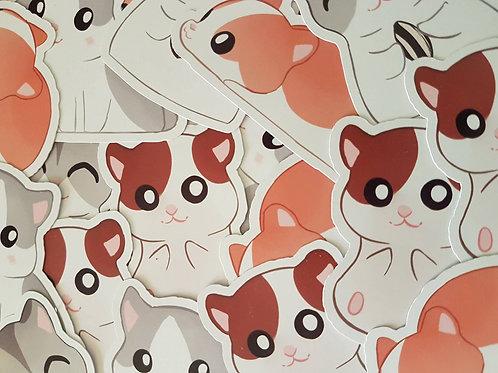 Hamster Sticker Set