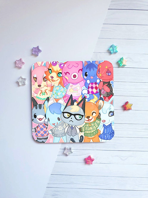 Animal Crossing Coaster