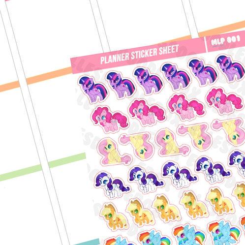 MLP Sticker Sheet