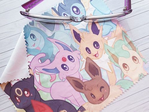 Eeveelutions / Lens Cleaning Cloth - for glasses and screens