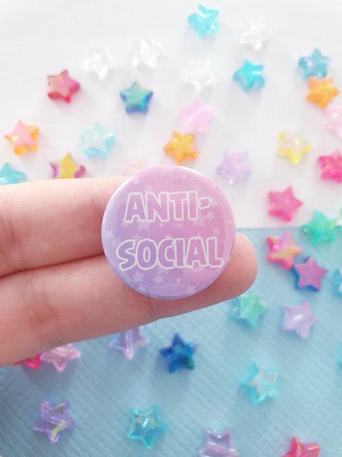 Anti-Social Badge