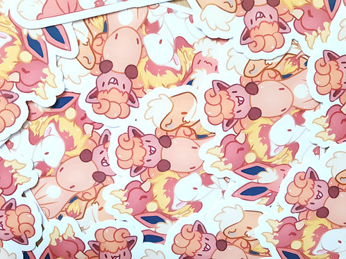 Fire Pokemon Group 1 Sticker