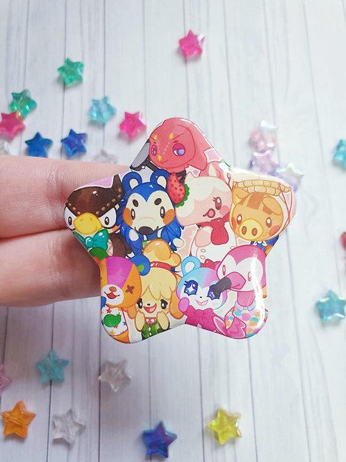 Animal Crossing Star Badge