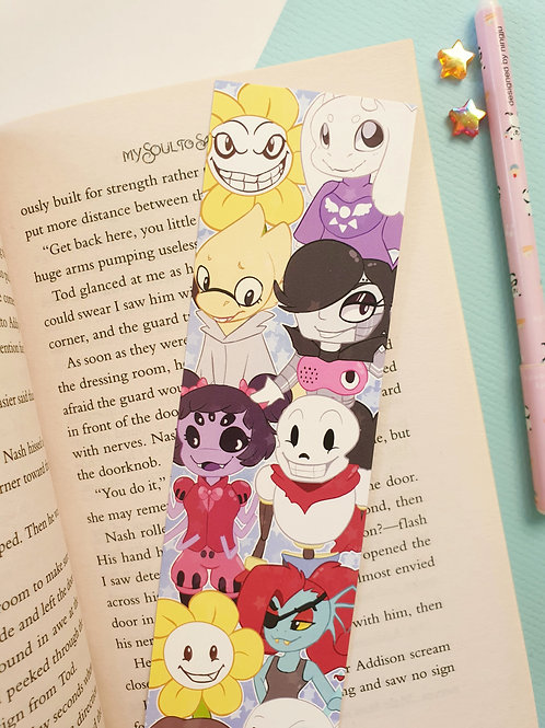 Undertale Bookmark