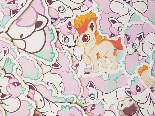 Ponyta Galarian Stickers