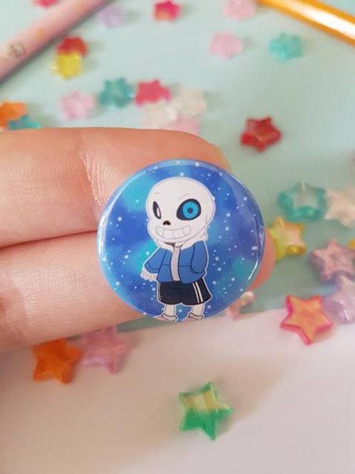 Sans Undertale Pin Badge Button Geek Anime