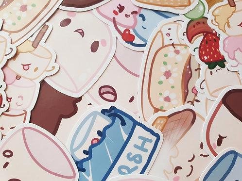Marshmallow Stickers