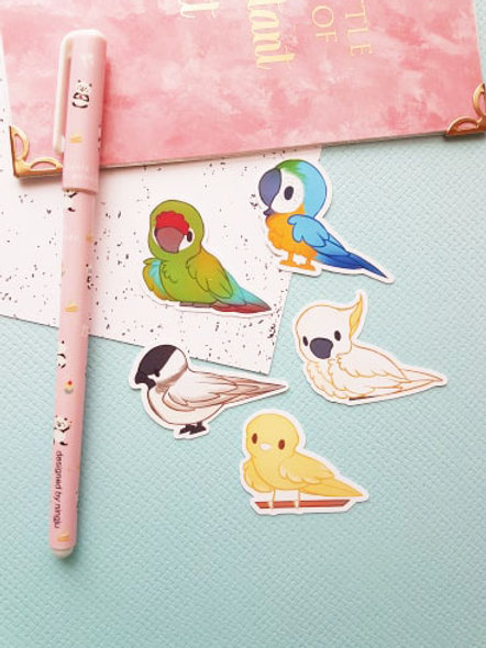 Bird 2 Small Sticker Set