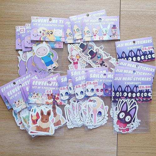 Bundle Stickers - SALE