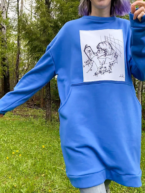 Oversized Dress/Sweatshirt