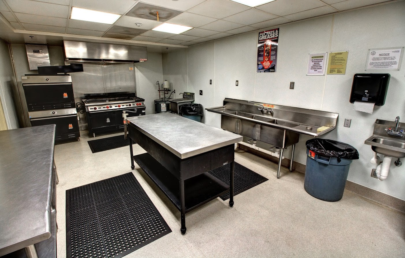 Veterans Room Kitchen