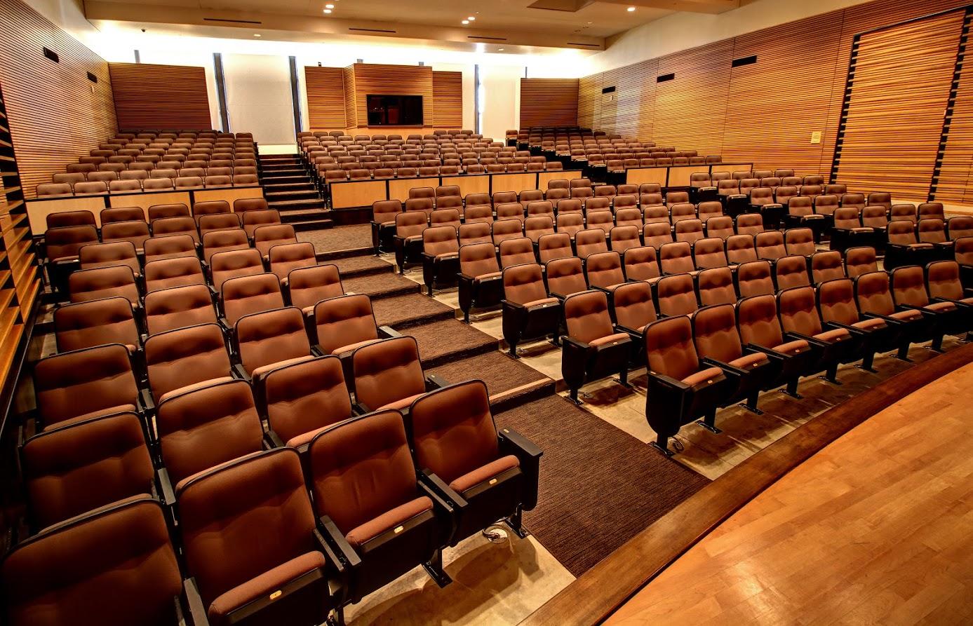 CVMD Auditorium, from stage