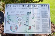CA 9/11 Memorial Map