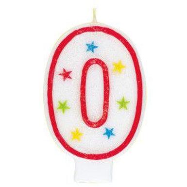 Candle Glitter Happy Birthday #0