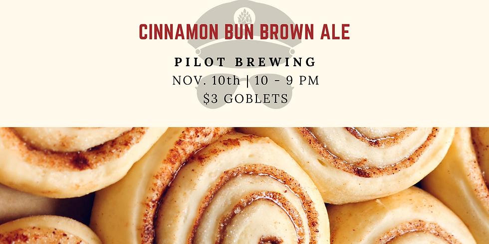 Cinnamon Bun Brown Ale Release
