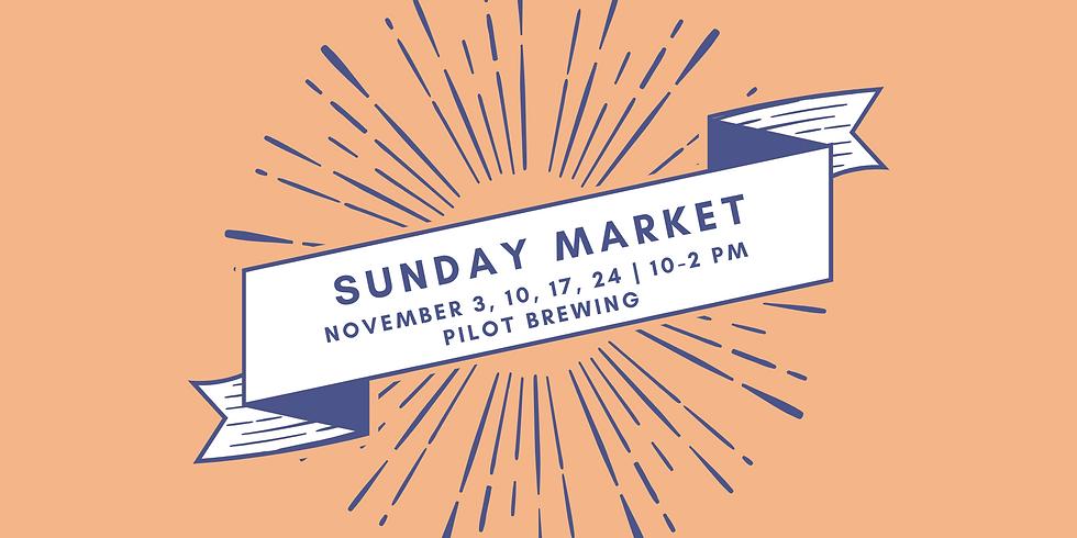 November Sunday Markets