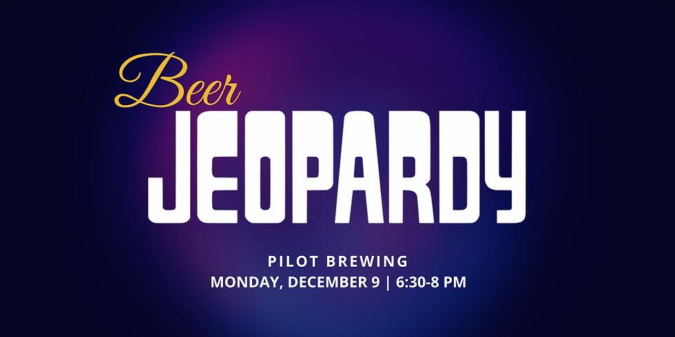 Beer Education Night: Jeopardy