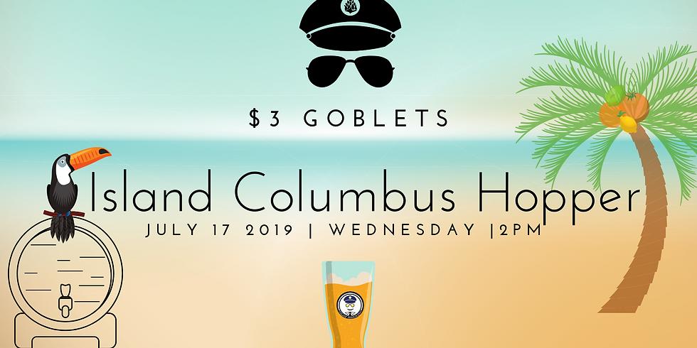 Island Columbus Hopper Release