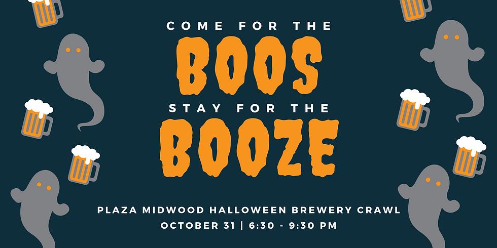 Plaza Midwood Halloween Brewery Crawl