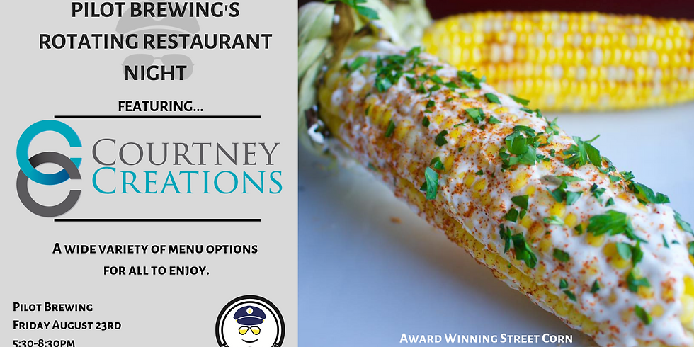 Rotating Restaurant Night: Courtney Creations