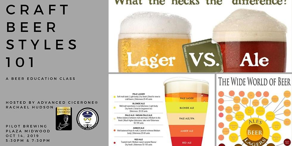 Beer Education Night: Beer Styles 101