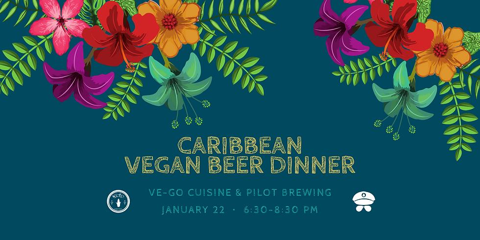 Caribbean Vegan Beer Dinner