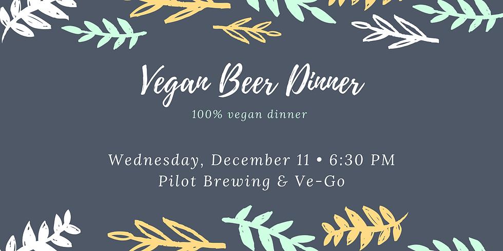 Vegan Beer Dinner