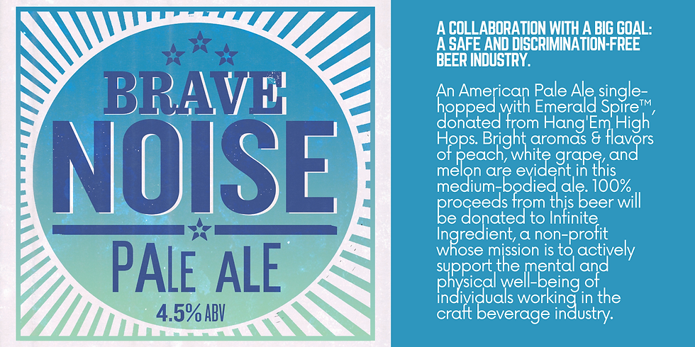 New Beer Release: Brave Noise Pale Ale