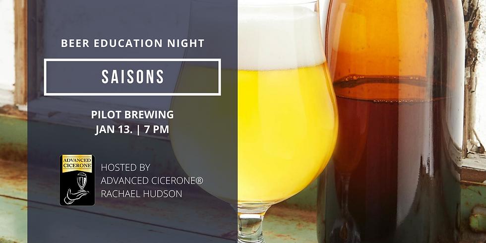 Beer Education Night: Saisons
