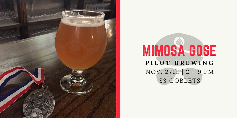 Mimosa Gose Release