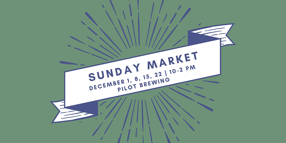 December Sunday Markets