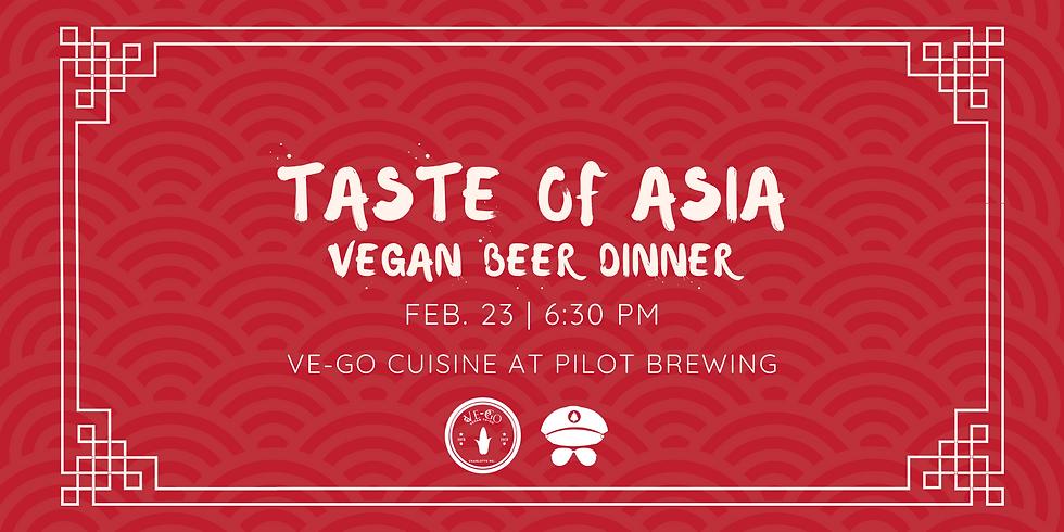 Vegan Beer Dinner: Taste of Asia