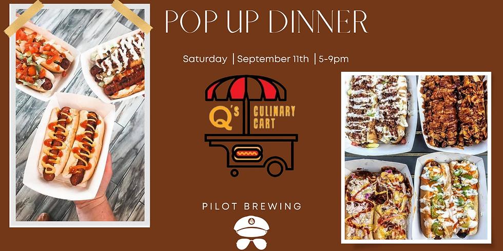 Pop Up Dinner: Q's Culinary Cart