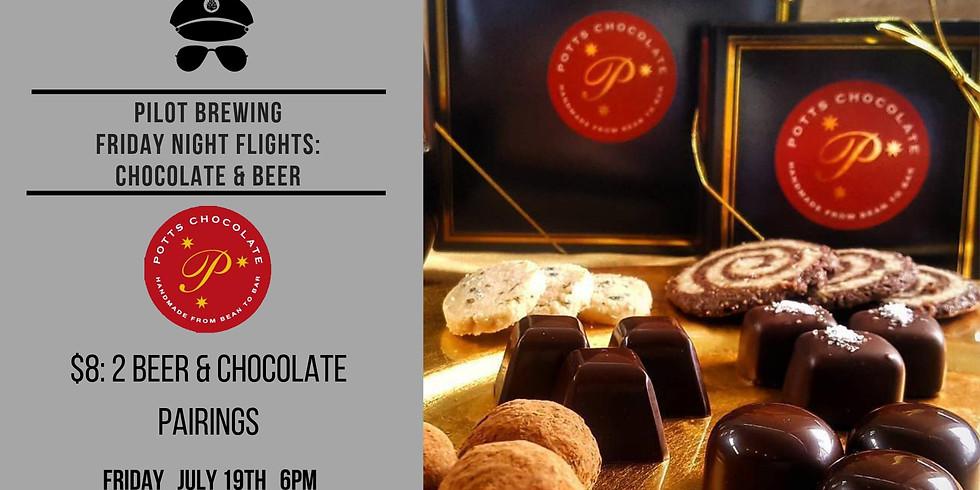 Friday Night Flights featuring Potts Chocolate