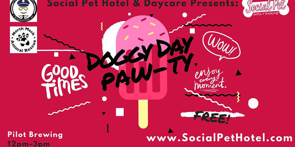 Social Pet Doggy Day and Adoption Party