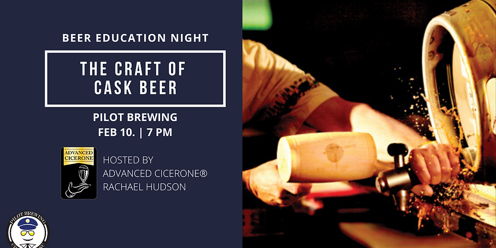 Beer Education Night: Cask Beer