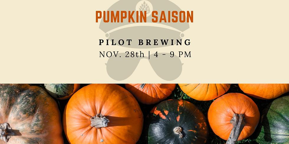 Pumpkin Saison Release