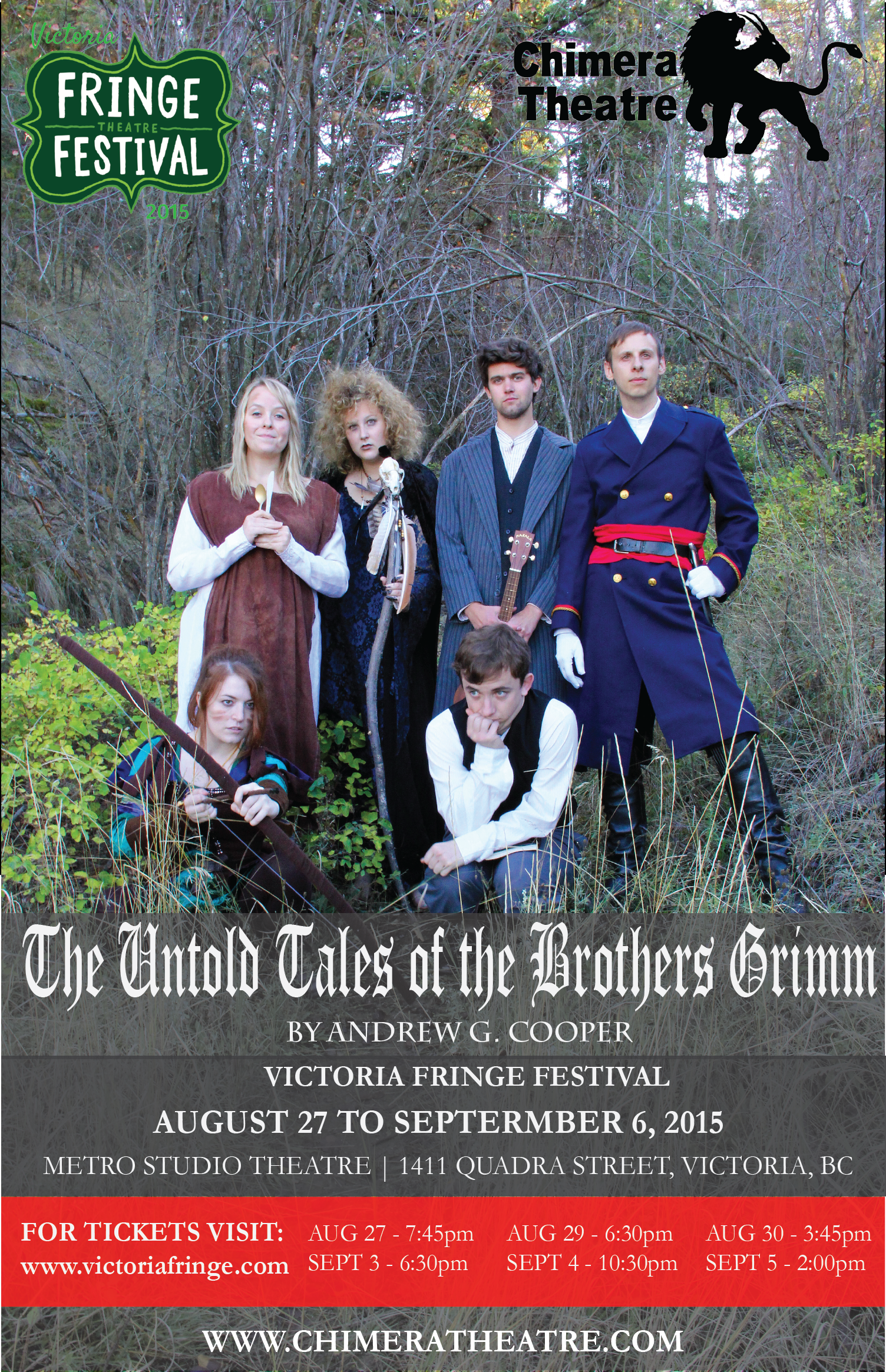 The Untold Tales of the Brothers Grimm (Victoria Fringe Festival)