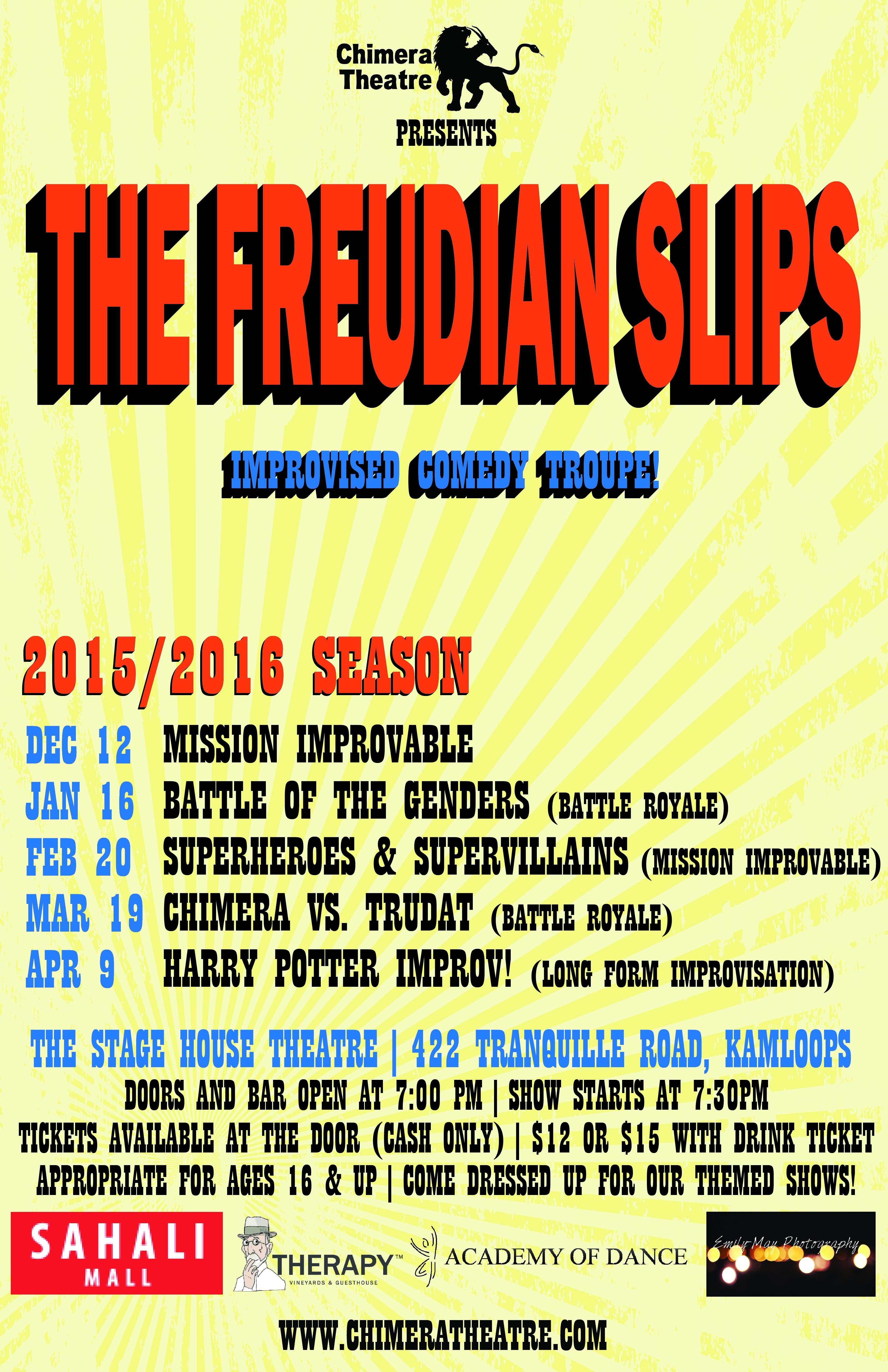 The Freudian Slips  (2015-2016)