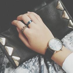 Ringe und Uhren