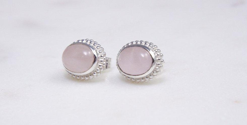 Mystic Garden earrings pink