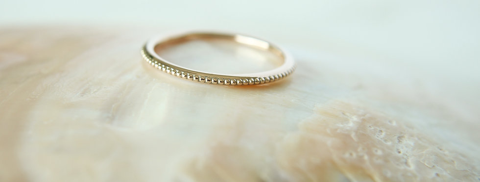 Petite ring gold