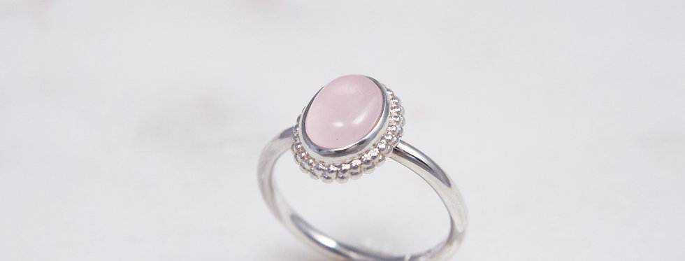 Mystic garden ring pink small